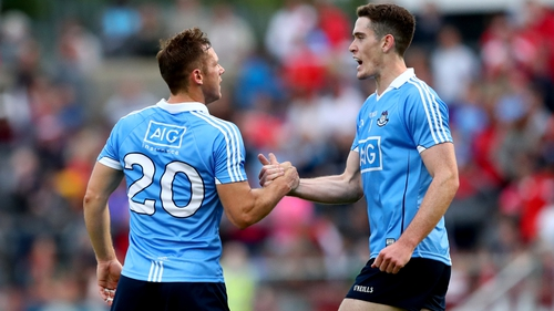 Dublin eventually saw off the Tyrone challenge at Healy Park