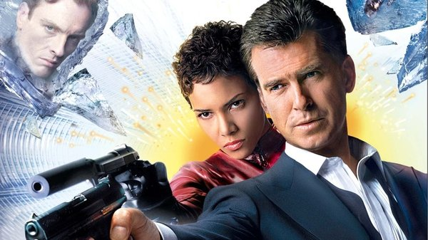 Halle Berry and Pierce Brosnan in Die Another Day
