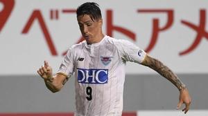 Fernando Torres in action for Sagan Tosu