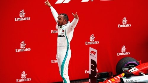 Lewis Hamilton is now 17 points ahead of Sebastian Vettel