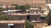 Six One News (Web): Hundreds of 'White Helmets' members evacuated in Syria