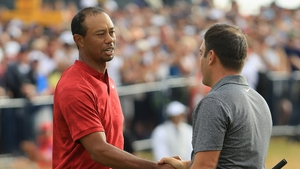 Tiger Woods was happy his children got to see him competing well in major championships
