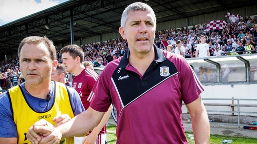 """Kevin Walsh: """"It was a great game of football, two teams going at each other."""""""