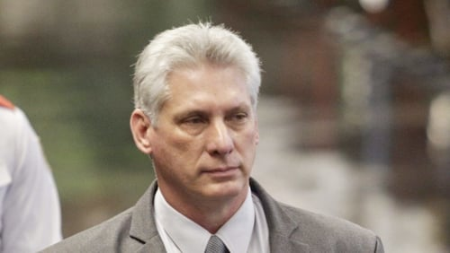 Miguel Diaz-Canel said Cubans would have a say on the constitution