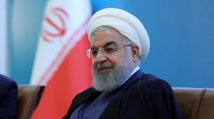 Iranian President Hassan Rouhani lifted nuclear research limits in September