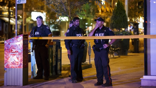 Toronto shooting: Victims 'spread across many blocks'