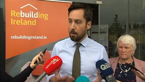 Minister Eoghan Murphy said numbers presenting to homeless services in the Dublin region remains a concern