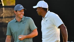 """Rory McIlroy: """"I wouldn't say we're worried about him, but he's one of those guys that's always in with a shot."""""""