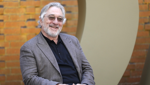 Robert De Niro: turned 75 on Friday, still spars in the ring. .