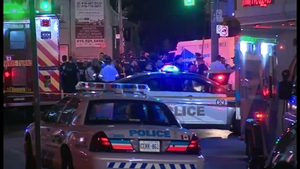 Police said the gunman died after the incident in Toronto