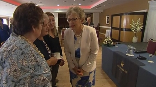 Katherine Zappone outlined her thoughts on the issue to a meeting in Tuam this evening