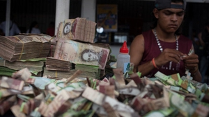 The Venezuelan bolivar's buying power has plummeted as inflation soars