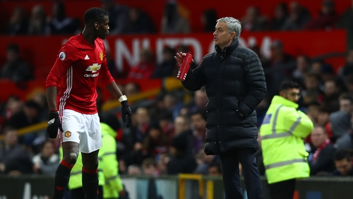 Jose Mourinho said Paul Pogba thrived because you couldn't lose concentration in World Cup environment