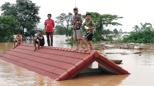 'Several Dead, Hundreds Missing' After Laos Dam Collapse