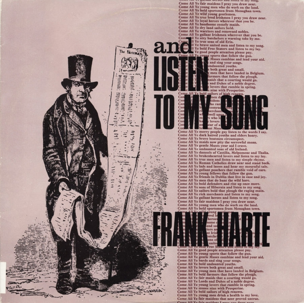 Simply Folk Recommends: Frank Harte's And Listen to My Song