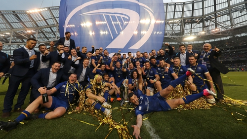 Leinster will begin their title defence against the Cardiff Blues.