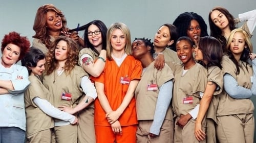The ensemble cast of Netflix's Orange Is The New Black