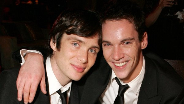 Cillian Murphy and Jonathan Rhys Meyers at a Golden Globes after party at the Beverly Hilton in Beverly Hills, California in January 2006