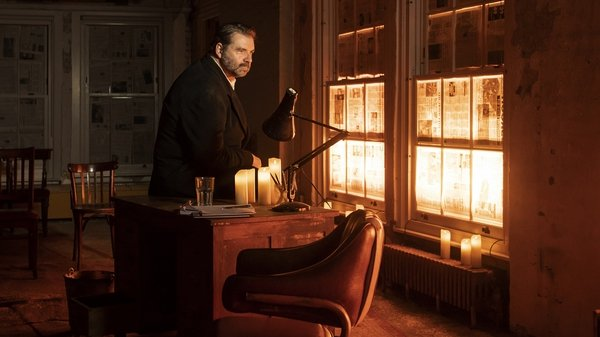 Brendan Coyle in stage production of St Nicholas