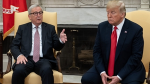 Jean-Claude Juncker and Donald Trump strike deal aimed at defusing the trade tensions between the two key economies