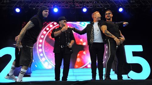 Boyzone release new single co-written by Ed Sheeran