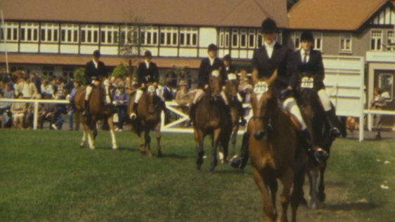 Riders at the Dublin Horse Show (1986)