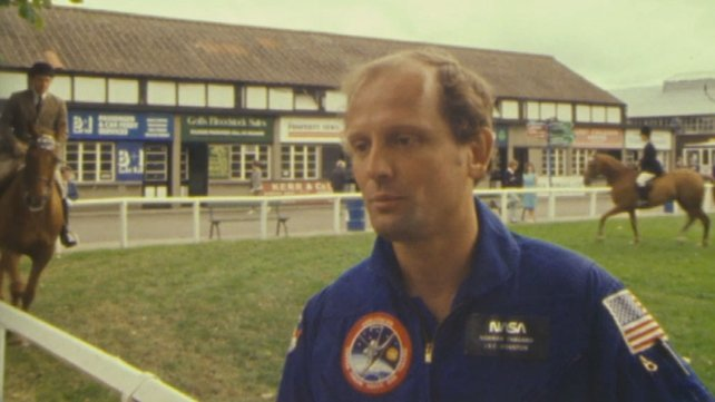 Astronaut Norman Thagard at the RDS (1983)