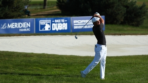 Bryson DeChambeau's late birdie blitz takes him to head of the field at the European Open