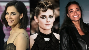 (L-R) Naomi Scott, Kristen Stewart and Ella Balinska - Coming to a cinema near you in September 2019