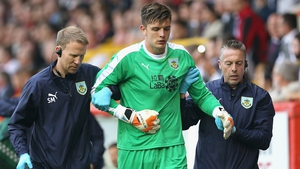 Nick Pope has had surgery on a shoulder injury