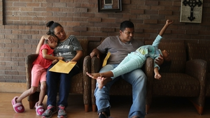 The parents and children were separated as part of President Donald Trump's 'zero tolerance' policy towards illegal immigration