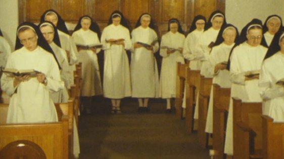 Dominican nuns in the Monastery of St Catherine of Siena, Drogheda, County Louth (1983)