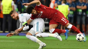 Sergio Ramos's controversial challenge on Mo Salah in the Champions League final