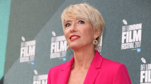 """Emma Thompson: """"This is the fact - this person does the same work for less money, and that's just wrong."""""""