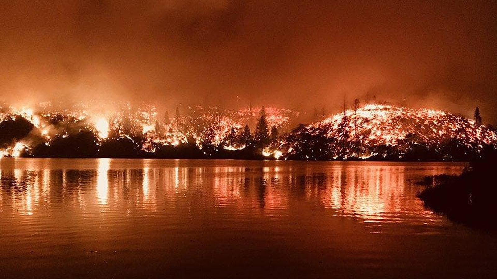 California wildfire grows by two-thirds overnight