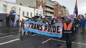 Around 1,000 people marched through the City Centre to Fairview Park