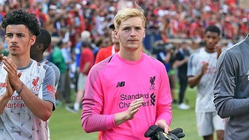 Cork-born goalkeeper Caoimhin Kelleher