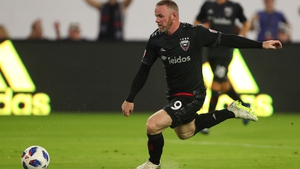 Wayne Rooney of D.C. United during the MLS