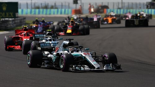 Lewis Hamilton led from start to finish in Hungary