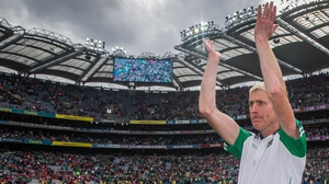 John Kiely led Limerick to their first All-Ireland title in 45 years in 2018