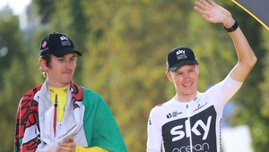 Chris Froome was looking to win a record-equalling fifth Tour title