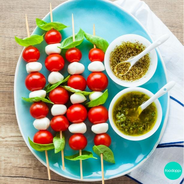 Foodoppi Summer Salad Skewers