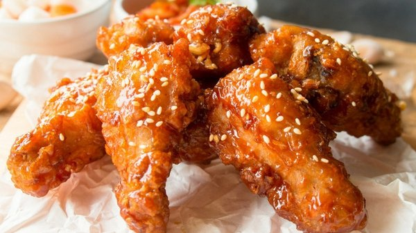 Sriracha & Honey Chicken Wings