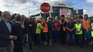 Protesters say the bus stops are a lifeline to surrounding rural communities