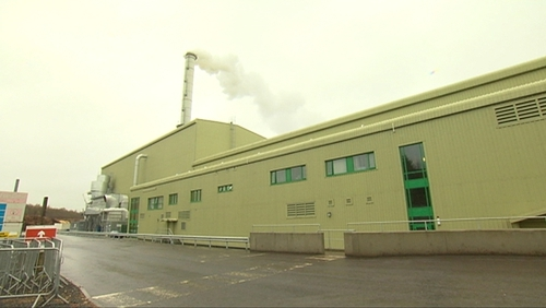 Gardaí are not treating the fire at Smartply as suspicious