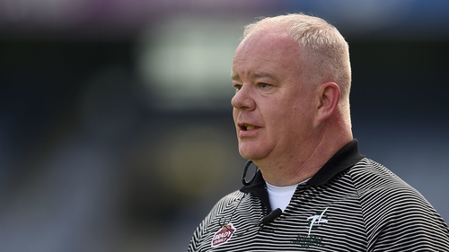 Joe Quaid in his former role as Kildare hurling manager