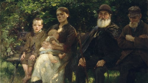 Walter Osborne, In a Dublin Park, Light and Shade (1895) - photo © National Gallery of Ireland