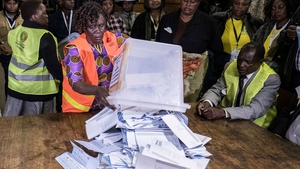 The Zimbabwe Electoral Commission said the average voter turnout yesterday was 75%