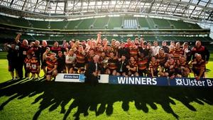 Lansdowne men celebrate their success of last season