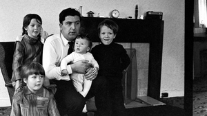 John Hume and his children pictured in 1969